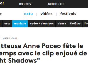 Le clip de Bright Shadows sur Culturebox !