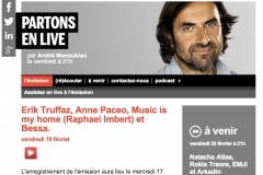 FRANCE INTER / PARTONS EN LIVE