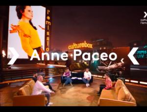 Anne dans l'émission de Culture box
